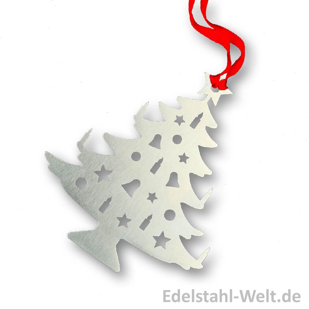 Edelstahl-Christbaumschmuck